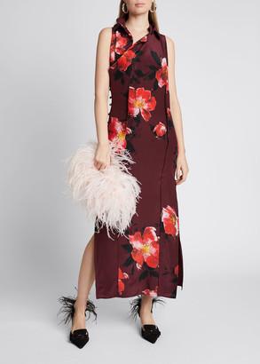 Altuzarra Floral-Print Midi Silk Dress