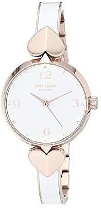 Kate Spade Hollis Watch - KSW1592 (Rose Gold/White) Watches
