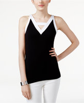 INC International Concepts Colorblocked Tank Top, Only at Macy's
