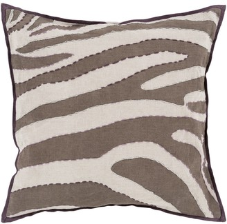 Overstock Decorative Danelli 22-inch Poly or Feather Down Filled Throw Pillow