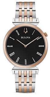 Bulova Regatta Slim Two-Tone Watch, 40mm