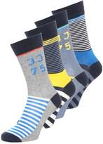 Jack & Jones Jjacdandelion 4 Pack Socks Bright Aqua