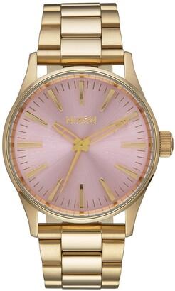 Nixon 'Sentry' Bracelet Watch, 38mm