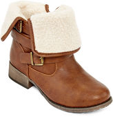 POP Hugo Strap Buckle Ankle Booties
