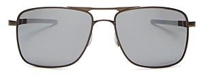 Oakley Men's Guage 6 Polarized Square Sunglasses, 57mm