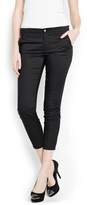 MANGO Outlet Cropped Suit Trousers
