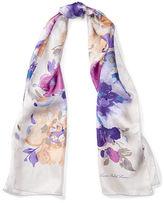 Ralph Lauren Amelia Floral-Print Silk Scarf