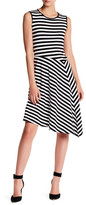 Vince Camuto Havana Stripe Dress
