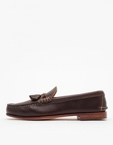 Quoddy Toasted Coconut Fringe Loafer