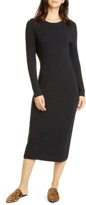 Jenni Kayne Long Sleeve Merino Wool Midi Dress