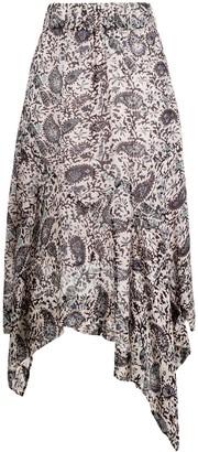 Etoile Isabel Marant Eda paisley print midi skirt