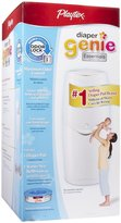Playtex Baby Diaper Genie Essentials Diaper Disposal Pail with 100 ct Refill - White