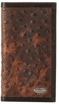 Nocona M&F Western Vintage Ostrich Rodeo Wallet