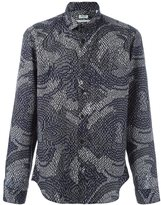 Kenzo psychedelic camo shirt - men - Cotton - 39
