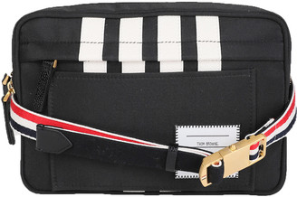 Thom Browne Black Belt Bag