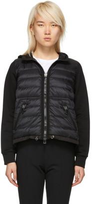 Moncler Black Down Hooded Jacket