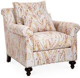 Massoud Furniture Emmet Club Chair - Pink Videira