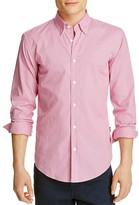BOSS Rodney Gingham Slim Fit Button Down Shirt