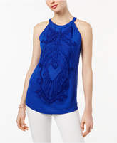 INC International Concepts Soutache Halter Top, Created for Macy's