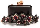 Sophia Webster Vivi butterfly-embellished leather box clutch