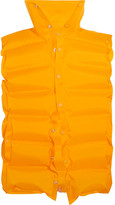 Balenciaga Inflatable Quilted Shell Vest - Marigold