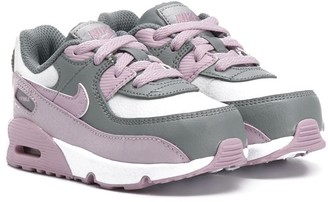 Nike Kids Two-Tone Lace-Up Sneakers