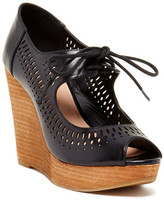 Restricted Mikie Peep Toe Wedge
