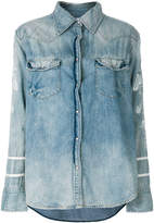 One Teaspoon distressed denim shirt