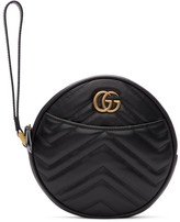 Gucci Black GG Marmont 2.0 Clutch