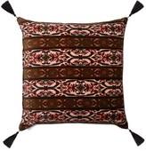 House Of Hackney - Mamounia Large Tasselled Velvet Cushion - Pink Multi