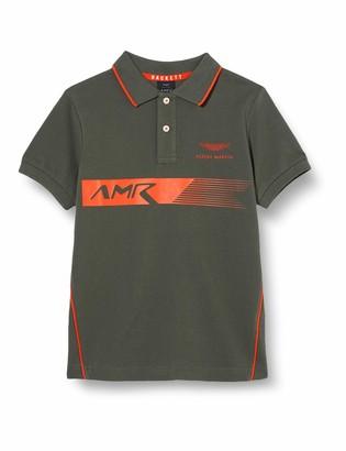 Hackett London Hackett Boy's Amr PNL Print Ss B Polo Shirt
