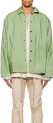Fear Of God Coaches Jacket in Army Iridescent | FWRD