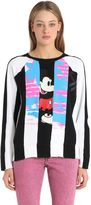 Marc Jacobs Printed Patchwork Cotton Sweatshirt