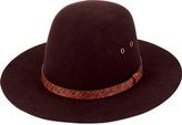San Diego Hat Company Women's Wool Felt Floppy Hat WFH8027