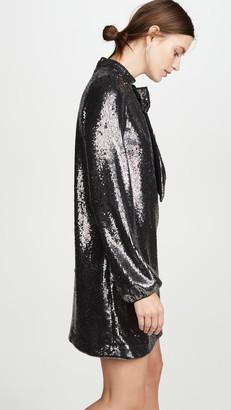 No.21 Long Sleeve Metallic Dress