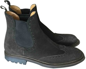 Church's Brown Suede Ankle boots