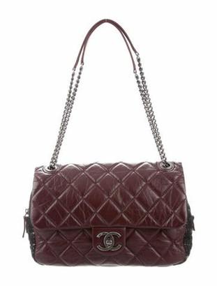 Chanel Medium Easy Flap Bag Violet