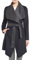 MICHAEL Michael Kors Women's Double Face Wool Blend Wrap Coat