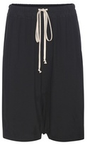 Rick Owens High-rise Crêpe Shorts