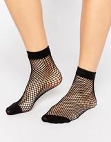 Asos Oversized Fishnet Ankle Socks