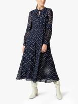 Hobbs Piper Dress, Midnight/Ivory