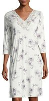 Hanro Camille 3/4-Sleeve Nightgown