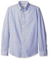 Ben Sherman Men's Long Sleeve Bengal Stripe Shirt