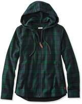 L.L. Bean Scotch Plaid Shirt, Relaxed Zip Hoodie