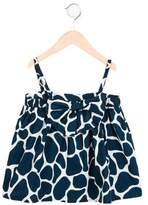 Stella Jean Girls' Giraffe Print Sleeveless Top w/ Tags