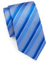 Bugatchi Striped Silk Tie