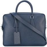 Prada removable strap laptop bag