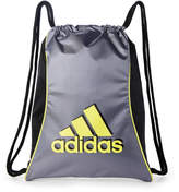 adidas Grey & Yellow Drawstring Backpack