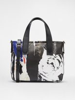 DKNY Ripped Rose Tote
