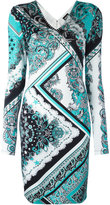 Just Cavalli paisley patterned dress - women - Spandex/Elastane/Viscose - 42